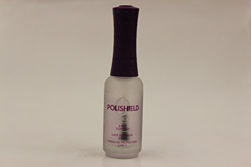 Orly Polishield 3-in-1 Ultimate Nail Top Coat, .3 Ounce by Orly