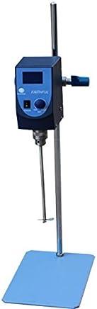 MXBAOHENG Lab Overhead Stirrer Digital Electric Mixer Agitator Stirring Capacity 20L 100~2500rpm 100~240V