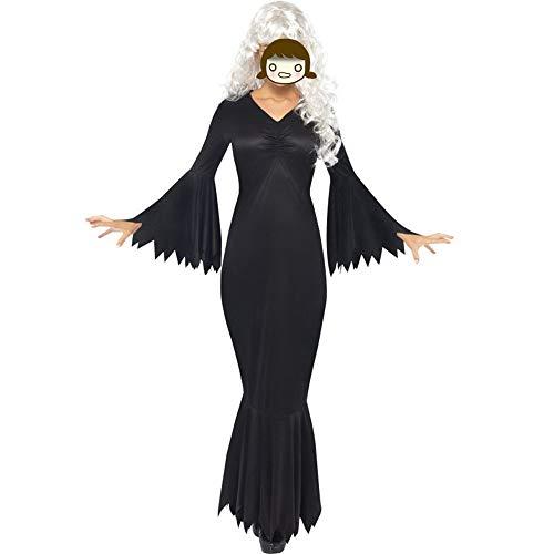 Discountl Halloween Cosplay Kostüm Europäische und amerikanische Teufel Jumpsuit Party Performance Kleidung Gr. L, Bildfarbe