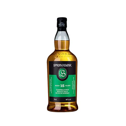 Springbank 15 Years Old Campbeltown Single Malt Scotch Whisky 46% Vol. 0,7 l + GB