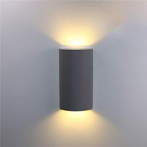MJSM Light bedlamp, op zonne-energie, buitenverlichting, LED-lamp, waterdicht en vochtbestendig, vierkant, Villa buiten, Y31,6 W, warmwit