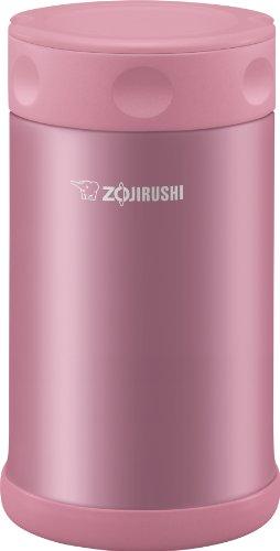 Zojirushi Stainless Steel Food Jar 25 oz. / 0.75 Liter, Shiny Pink
