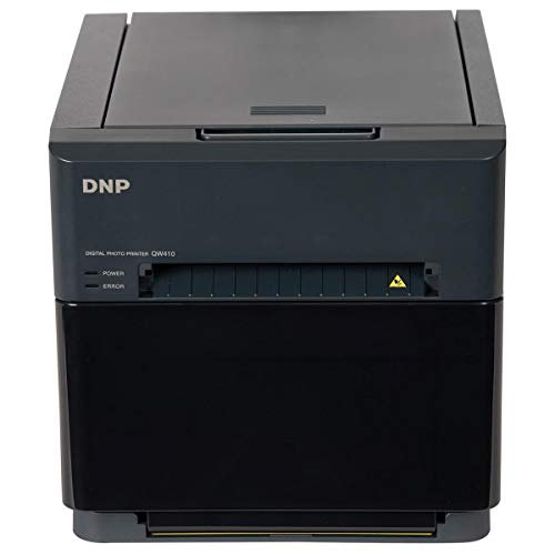 DNP QW410 4.5' Dye Sublimation Printer, 300x300 dpi, 190 4x6 Prints Per Hour