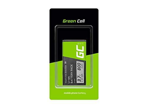 Green Cell Batteria interna del telefono KAB4 compatibile con Kazam Life B4 Maxcom MM720 | Li-Ion | 800 mAh 3.7 V | Batteria di ricambio per smartphone | Batteria di marca | Alta qualità
