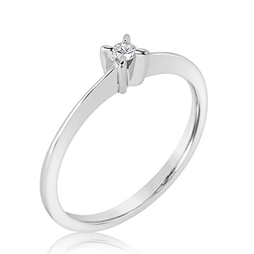 MILLE AMORI Or - 375/1000 oro blanco Diamond