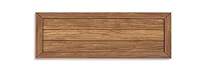 Cabecero de madera maciza natural acabado encerado. No requiere montaje, sólo colgar en la pared. Fabricado en España. Garantía de satisfacción 100%. La oferta sólo incluye en cabecero. Medidas: Ancho: 105 cm x Alto: 60 cm x Grosor: 2 cm.