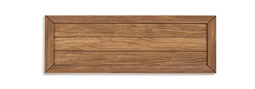 HOGAR24 ES Cloe 95 - Cabecero Madera Maciza Natural Acabado Encerado. Medidas: 105 x 60 x 2 cm.