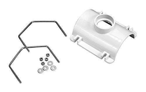 Oatey 43789 PVC Saddle Tee Kit, 3-Inch x 2-Inch