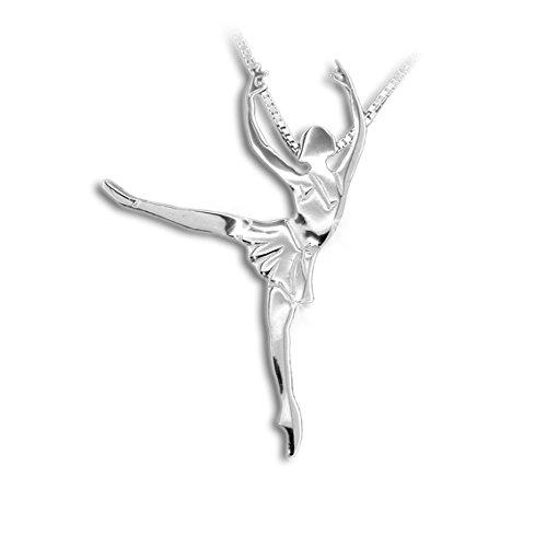 MIKELART Schmuck Tänzer, Pendant Arabesque Balanchine, Classical Ballet Tanzende Schmucken