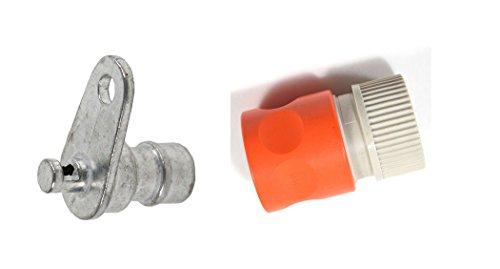 Craftsman 532415598 Washout Port Kit ( 532415598 washout port and 532416405 coupling)