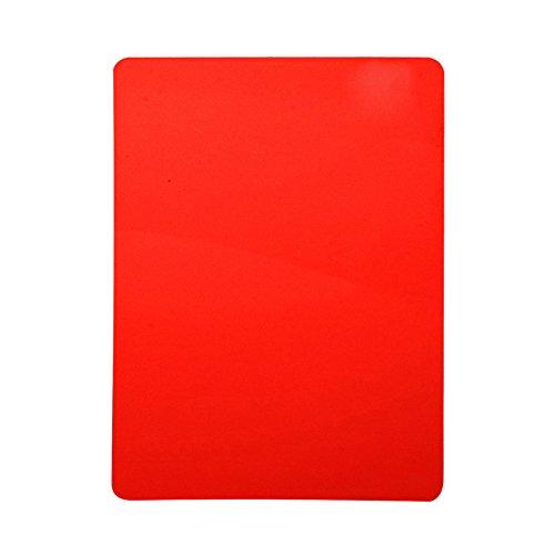 VGEBY Schiedsrichter Scorebooks Set Rote Karte Gelbe Karte für Fußball Basketball Volleyball Handball Ballspiele Sport
