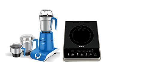 Havells Maxx Grind 750-Watt Mixer Grinder with 3 Jars (Blue) + Havells...