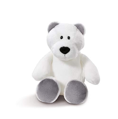 NICI 43625 Kuscheltier Eisbär, 20 cm, weiß