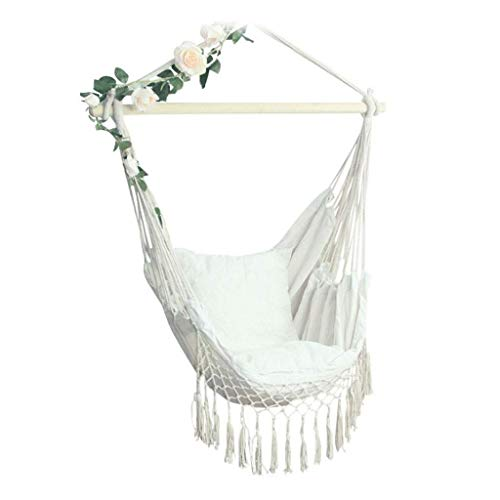 Swing Home Swing Bedroom Balcony Leisure Swing Hanging Chair Student Dormitory Hanging Basket Tassel Cradle Chair Safety