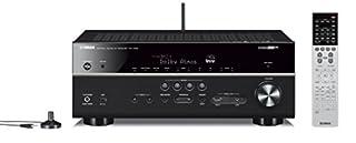 Sintoamplificatore AV 7.1 MusicCast, compatibile con Dolby Atmos e DTS:x, connessione Bluetooth in/out, Wi-Fi , AirPlay, app AV Controller e Network, Streaming Regolazione livello del dialogo e dell'altezza dialogo, HDMI con eARC, compatibile con pas...