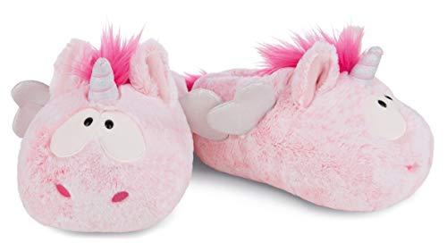 NICI 44375 Pink Hausschuhe Harmony Größe 38-41 aus Plüsch, Theodor & Friends
