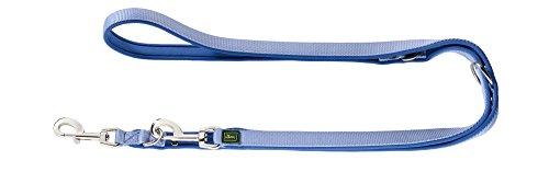 HUNTER Neopren Verstellbare Führleine für Hunde, Nylon, Neopren gepolstert, für Sport und Freizeit, 1,5/200 cm, blau