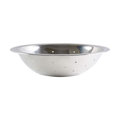 Restaurant Essentials 2 quart Steel perforated mixing bowl, is available in every