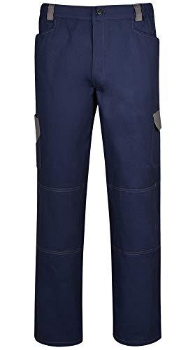 DINOZAVR Omega Pantalones de Trabajo de algodón para Hombre - Azul Marino S