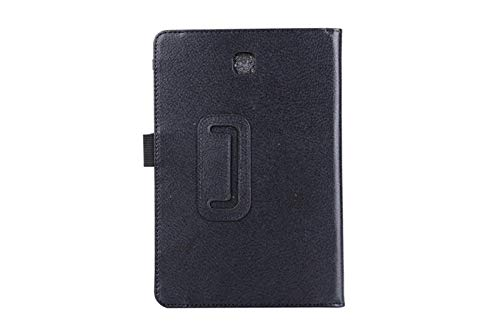 Tablet Case For Samsung Galaxy Tab A T550 T555 SM-T550 9.7 Stand PU Leather Smart Cover Case Protector-Black