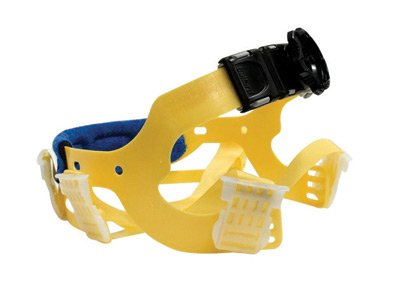 Bullard Yellow Seamless Woven Nylon Flex-Gear Replacement 6 Point Ratchet Suspension With Brow Pad For Use With C30, C33 And C34 Classic Series Hardhats