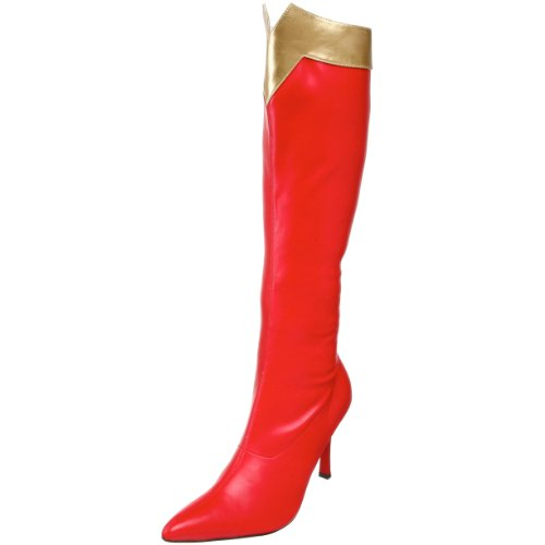 Funtasma Damen WONDER-130 Kurzschaft Stiefel, Rot Red Gold STR Pu, 38 EU