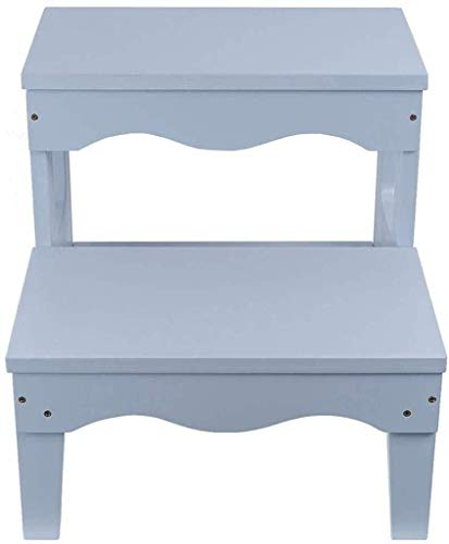 LILIS Wooden Step Stool Step Stool Space Saving, Compact, Kitchen Dining Table & Chairs Set