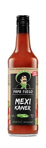 Papa Fuego Mexikaner (1 x 0.7 l) | Mittelscharfer Tomatenschnaps