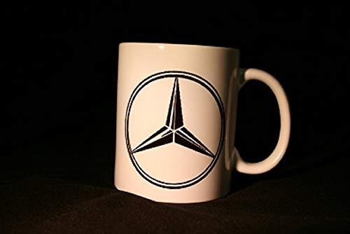 Schilderfeuerwehr Kaffeetasse Tasse mit LKW/Truck Logos und Texten/Sprüche (MERCEDS)