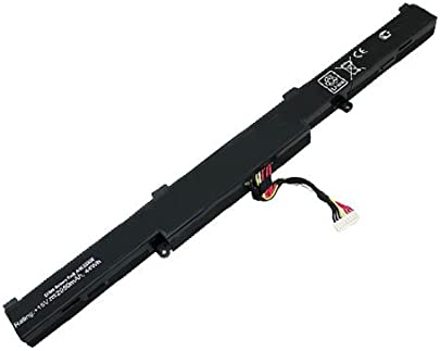 amsahr ASUSA41X550E-02 Ersatz Batterie f r Asus A41-X550E  X450  X450E  X450J  X450JF  A450  A450C schwarz