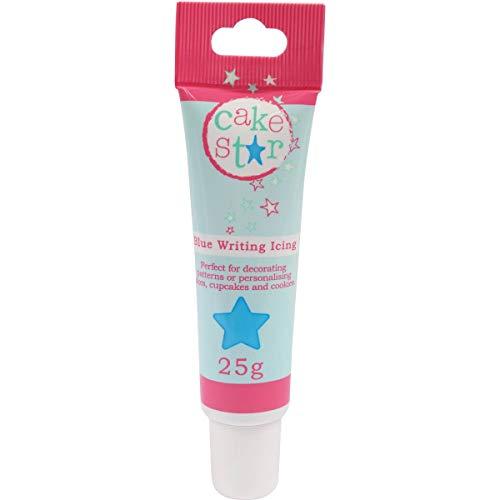 Cake Star Writing Icing - Blue