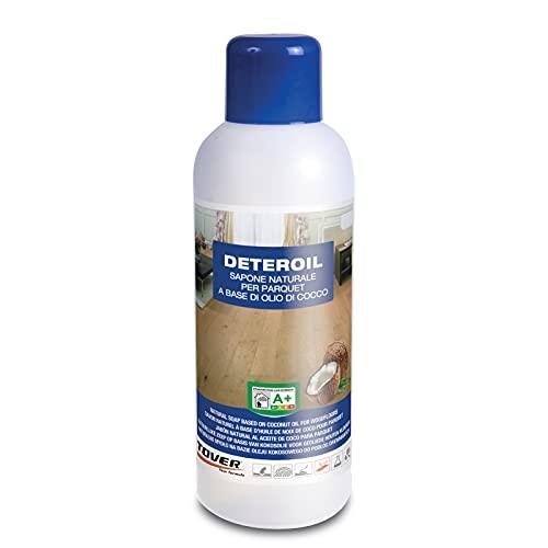 Tover DETEROIL 1 L | Detergente per parquet a base di olio di cocco