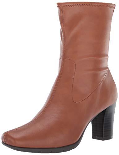 Aerosoles Women's Cinnamon Mid Calf Boot, Dark Tan, 8.5 W US
