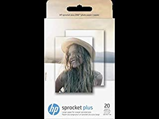 HP Sprocket Plus Photo Paper-20 sticky-backed sheets