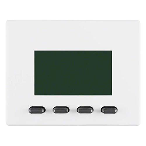 Hager ARSYS Zeitschaltuhr mit Display-Modul Vereinfachte Version weiß Polar