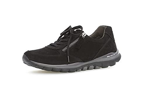 Gabor Shoes Damen Sport-Halbschuh Sneaker, Schwarz (Blurossoschw) 47, 40 EU