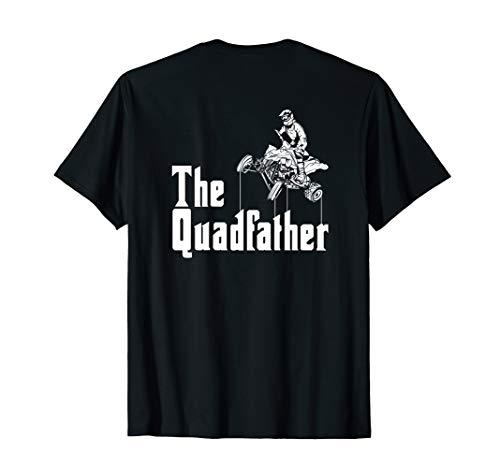 The Quadfather - Rückendruck - Cooles ATV Offroader & Quad T-Shirt