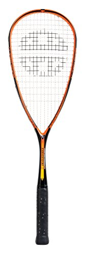 Unsquashable y-Tec 5005 C4 Black-Naranja - Raqueta de Squash Raqueta