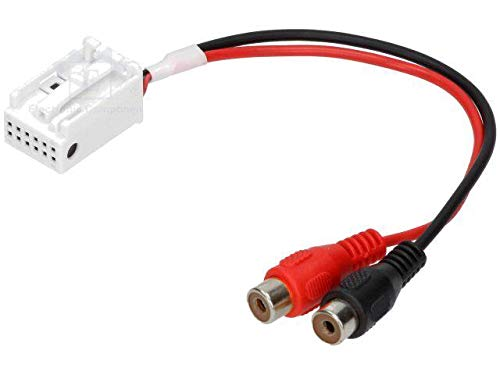 Cable Autoradio Adaptateur RCA compatible avec Audi ap05 changeur CD usine