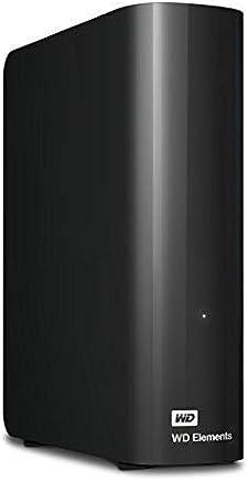 WD 8TB Elements Desktop Hard Drive - USB 3.0 -...