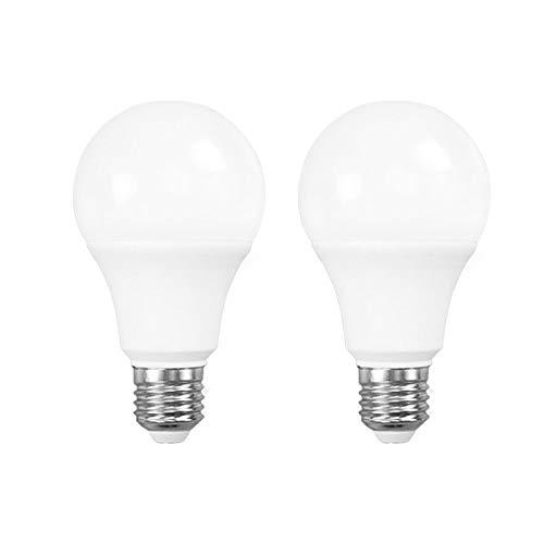 2 PCS WiFi Smart Glühbirne, 9W dimmbare weiche weiße oder kaltweiße LED-Glühbirne, E26 / E27 Base Smart Light, kein Hub erforderlich Kompatibel mit Alexa, Google Home Assitant, eWeLink