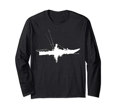 Kajakfischen   Kajak fahren   Geschenk zum Angeln Langarmshirt