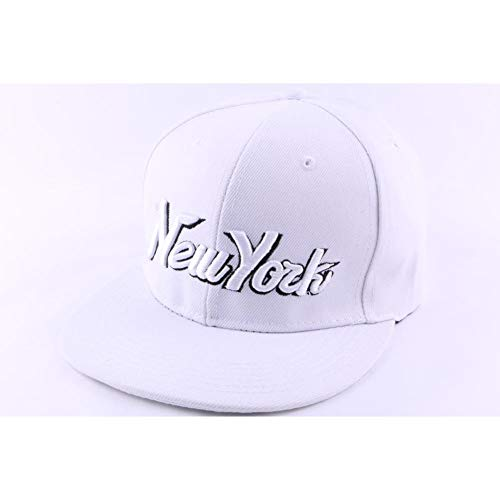 Hip Hop Honour Casquette Snapback New York Blanche - Mixte