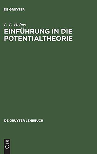 Einführung in die Potentialtheorie (De Gruyter Lehrbuch)
