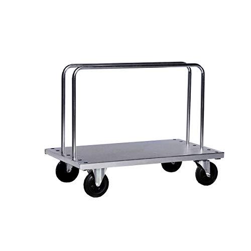 Kongamek Verzinkter Schwerlast-Bügelwagen - inkl. 2 Bügel, LxBxH 1250 x 700 x 945 mm, Tragfähigkeit 500 kg - Bügelwagen Schwerlasttransportwagen