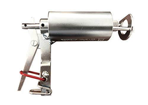 OmixTop W2 - Trampa para Topos y Topillos de Jardín, Fusil más 10 Cartuchos