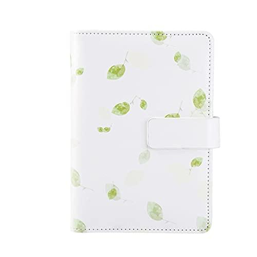 HJHJ Cuaderno A6 con bonito cuaderno para diario de estudiantes, bloc de notas, portátil, papelería, cuadernos personalizados, color verde