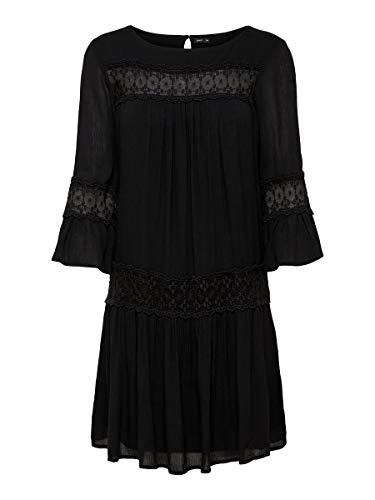 ONLY Female Kleid Ausgestelltes 36Black