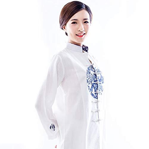 JTKDL Tai Chi Bekleidung Herren Und Damen Kampfsportbekleidung Trainingsbekleidung Chinesischer Stil Frühling Sommer Herbst Boxbekleidung,M