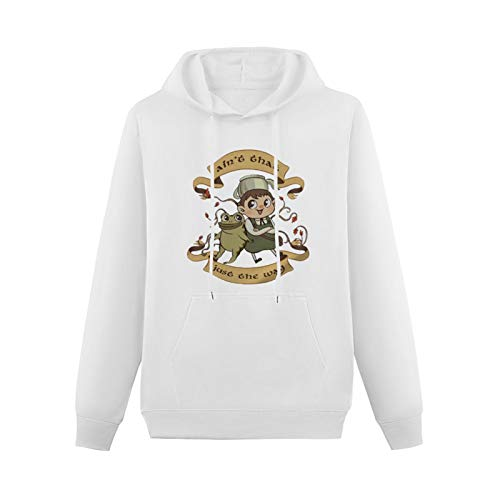 Over The Garden Wall Wirt Greg Beatrice Printed Hoody For Male White S